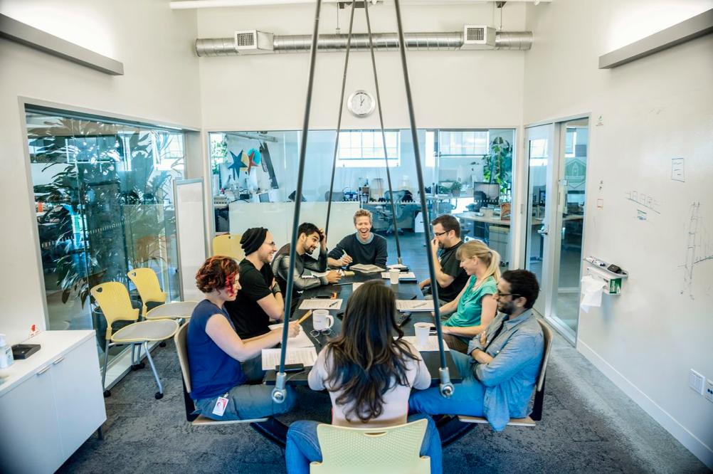 Mødelokale i Autodesk, San Francisco